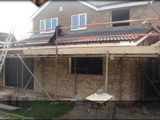 Photo of Rear and side house extension constructed in Sheffield. Built in 2009.