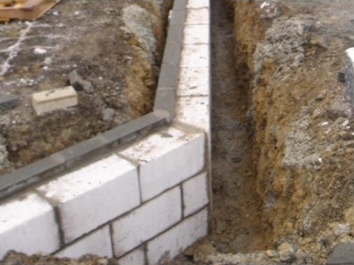 300mm trench blocks
