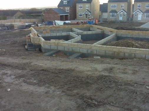 Granite Foundation Blocks : Photo sheffield foundation of a squint block